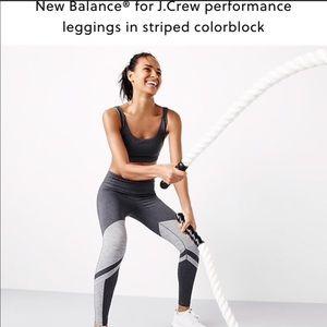 New Balance for J. Crew  performance leggings